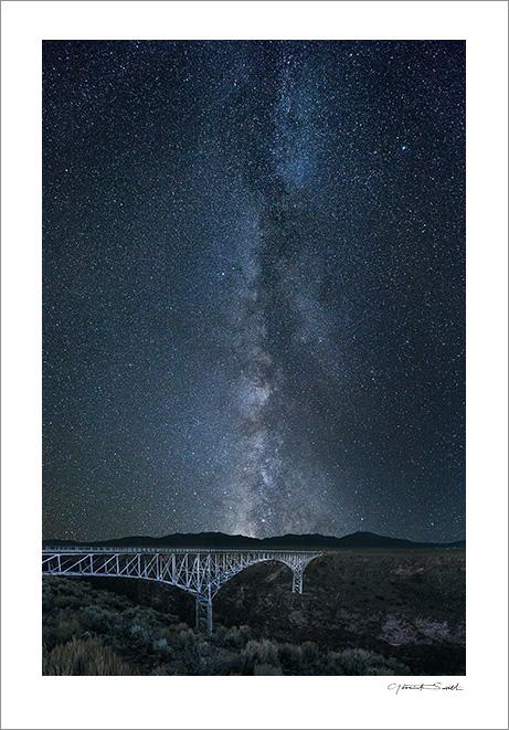 Rio Grande Gorge Milky Way