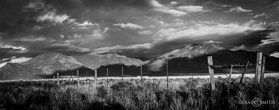 Taos Mountain Evening Light