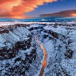 Rio grande gorge winter photo tours
