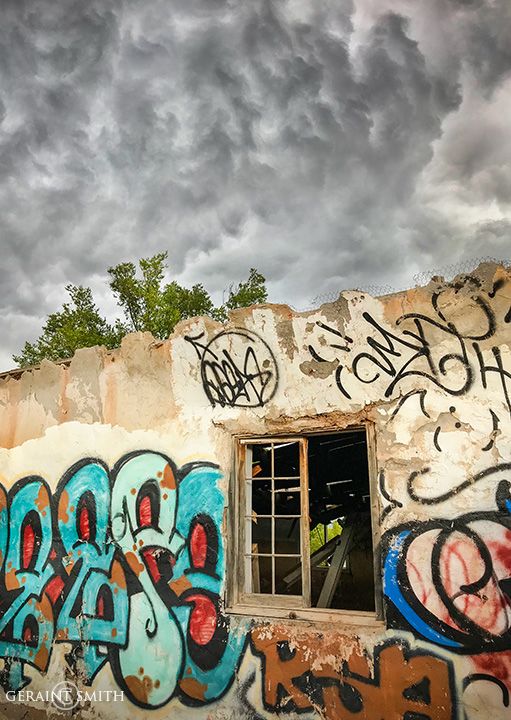 Graffiti Art On the High Road To Taos
