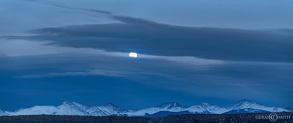 Winter Solstice Moonrise