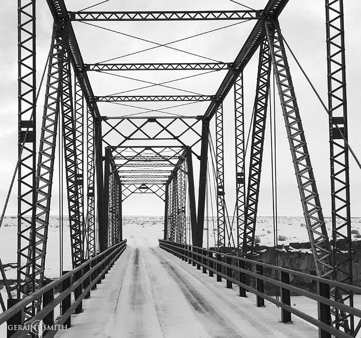 Lobatos Steel Bridge, Rio Grande Colorado