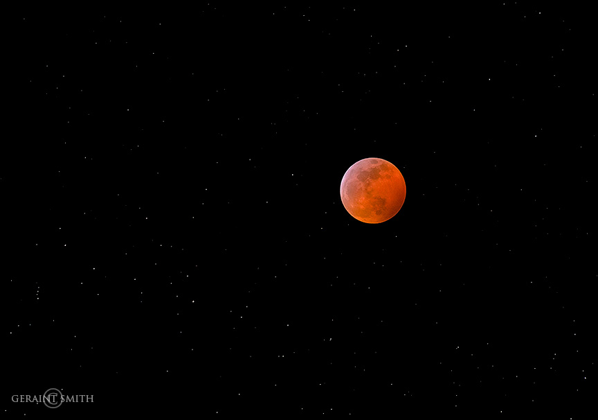 Super Wolf Moon Eclipse, San Cristobal
