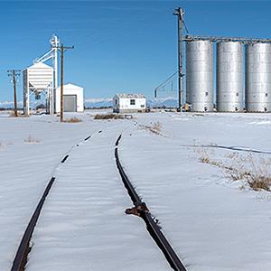 Barley Silos, Bountiful, Colorado