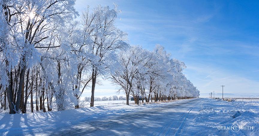 Ice Road, San Acacio, Colorado