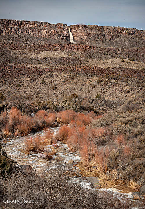 Rio Pueblo Willows, Gorge Waterfall