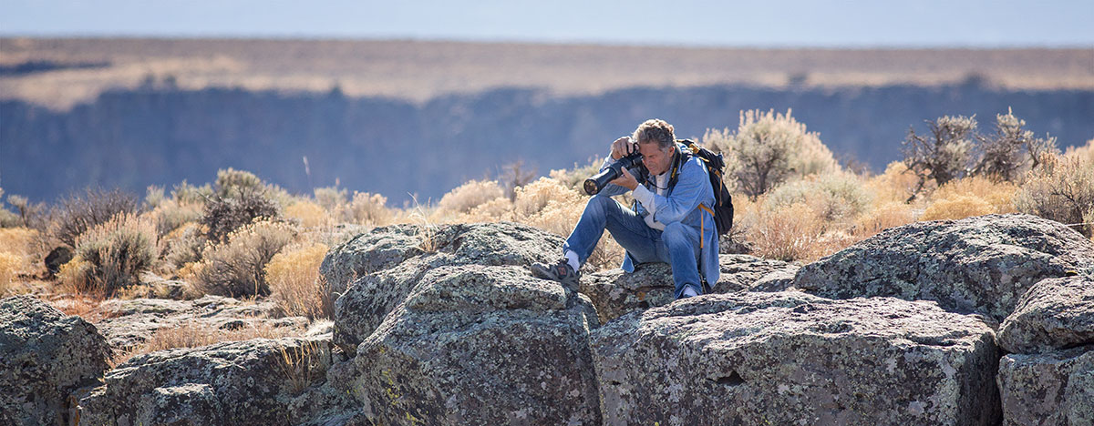 Photographing the rio grande gorge