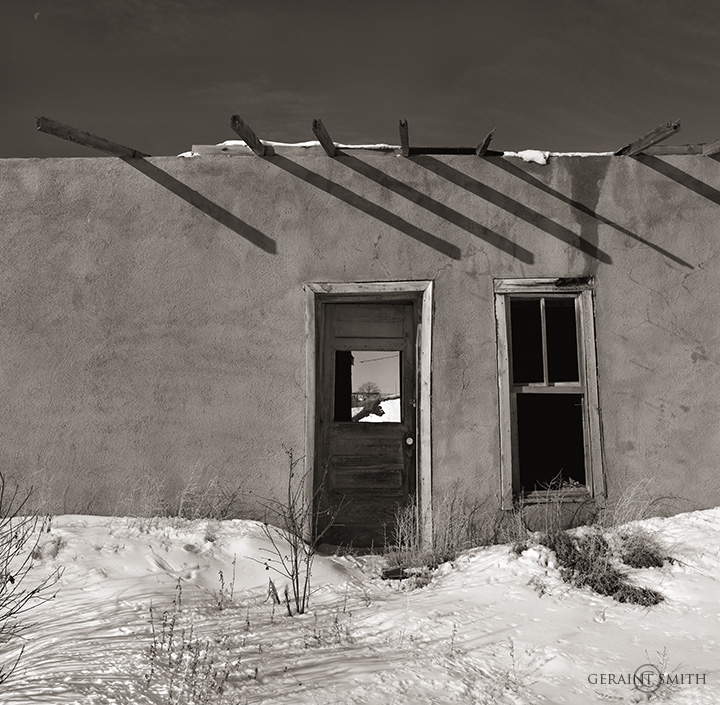 Adobe Shadows, Costilla, NM