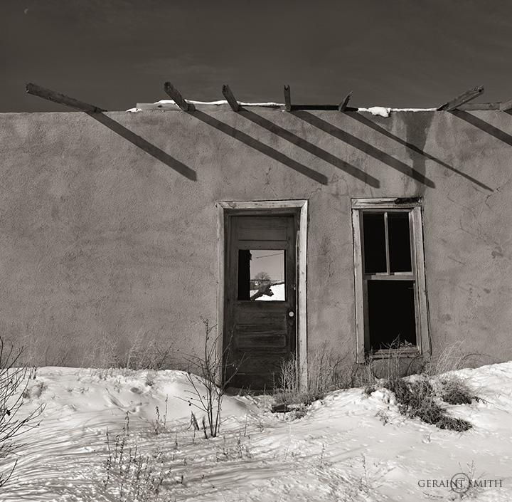 Adobe Shadows, Costilla, NM
