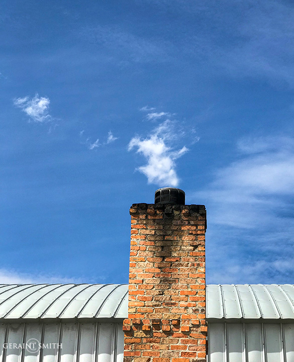 Chimney Clouds, Santa Fe
