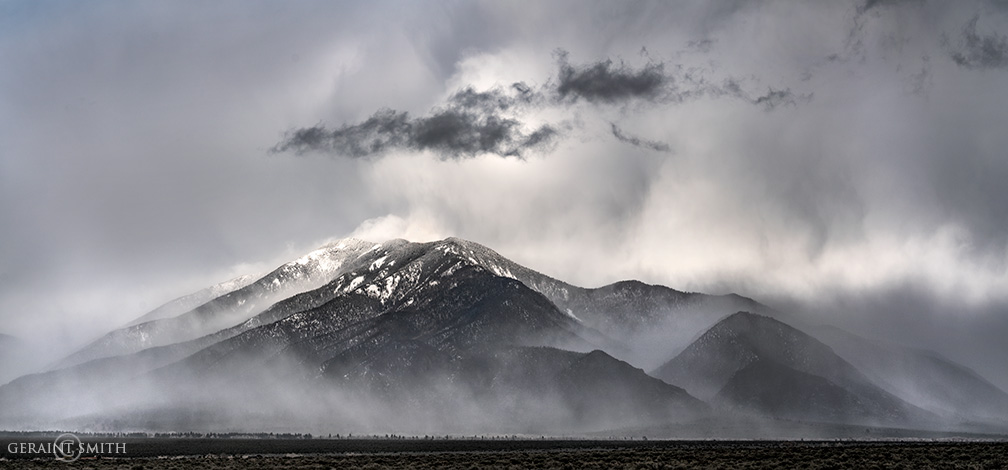 Mist Rising On Taos Mountain