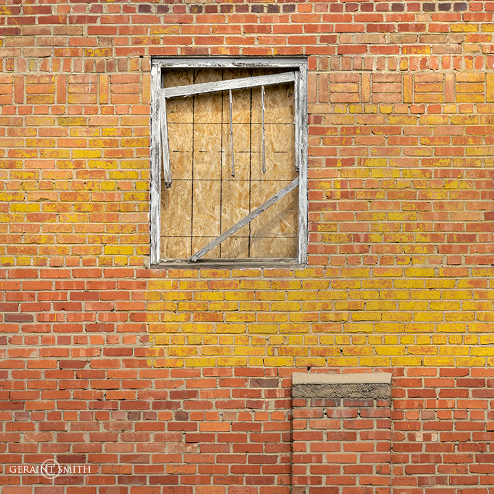 Yellow Brick Wall Trinidad, Colorado