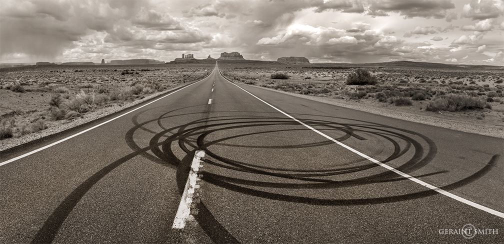 Highway 163, Monument Valley, Arizona