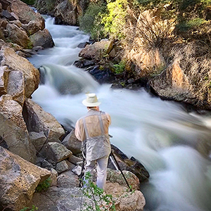 Photography tour/workshop flowing water, New Mexico