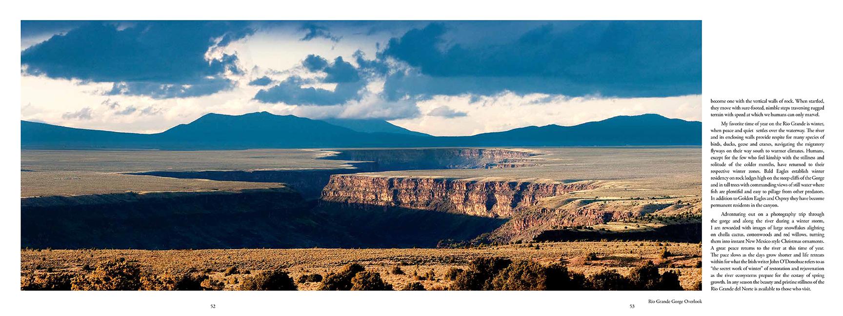 Book page Rio Grande Gorge