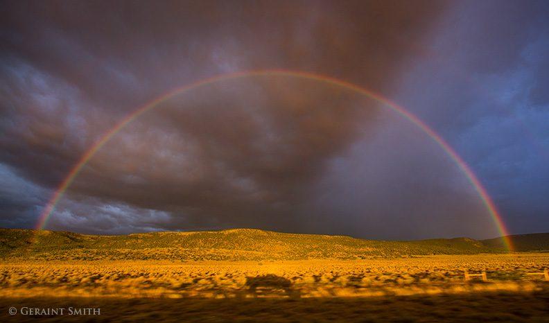 65 mph rainbow San Luis Valley, Colorado