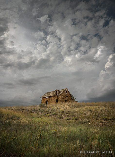 abandoned adobe home san cristobal new mexico