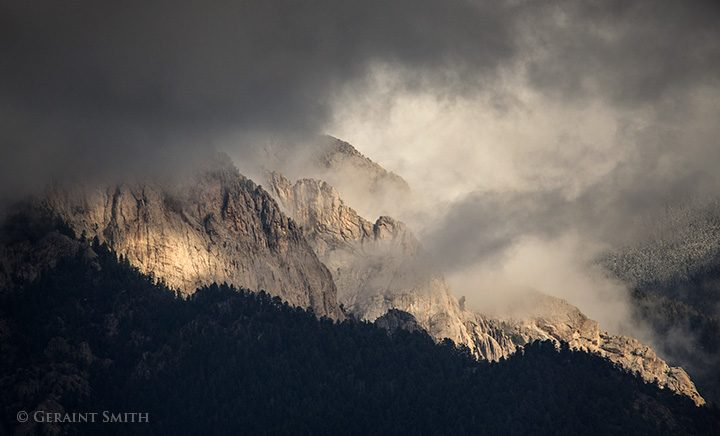 Clearing Storm, El Salto Rocks, Taos, NM