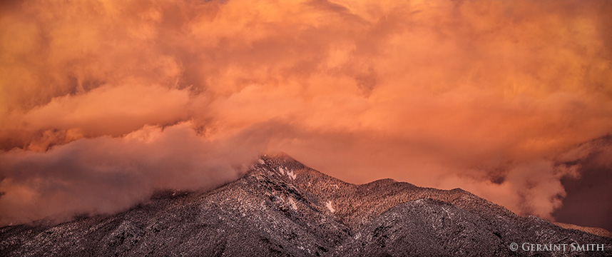 Taos Mountain sangre de cristo