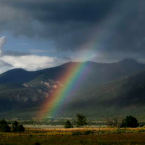 Archive index 2005 photo of the day archive rainbow el prado Taos new mexico