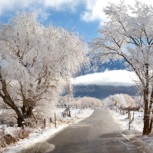 Archive index 2011 photo of the day archive arroyo hondo, arroyo seco road winter snows