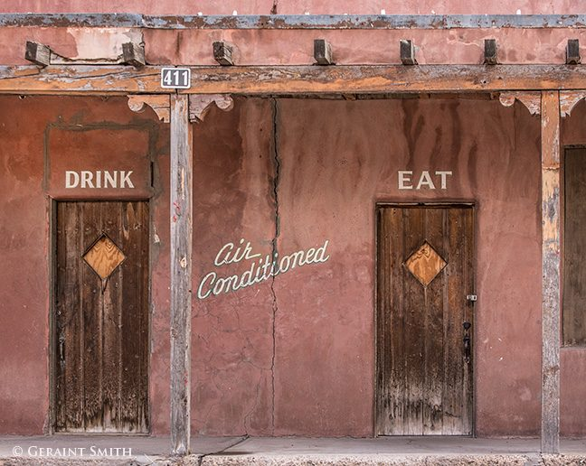 drink eat in air conditioned building carrizozo nm