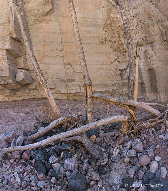 Plaza blanca slot canyon wash abiquiu new mexico