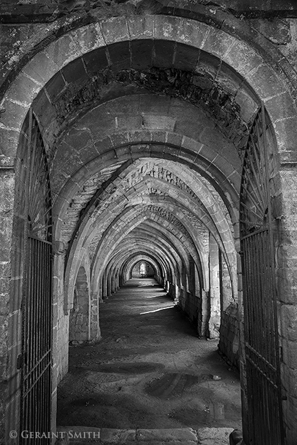 fountains abbey yorkshire, UK