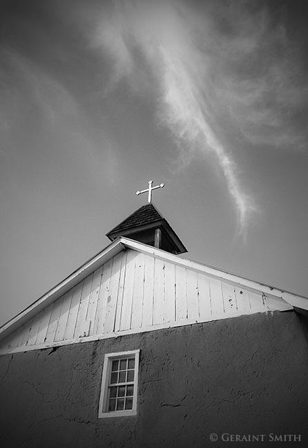 Holy Trinity Church Iglesia La Santísima Trinidad Church of the Most Holy Trinity Arroyo Seco, NM, USA.