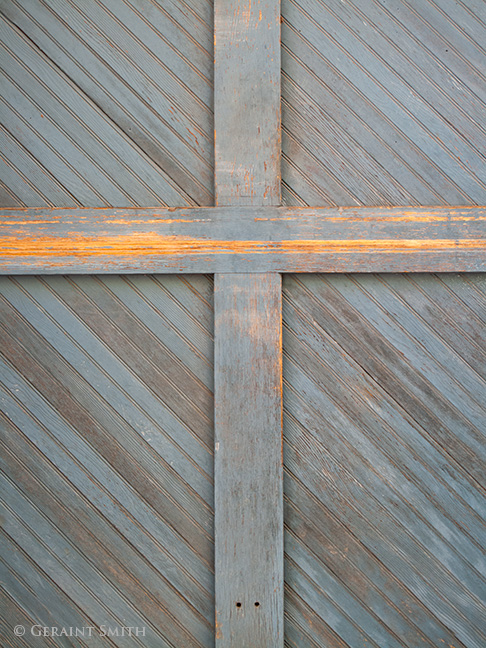 wood door paint patina