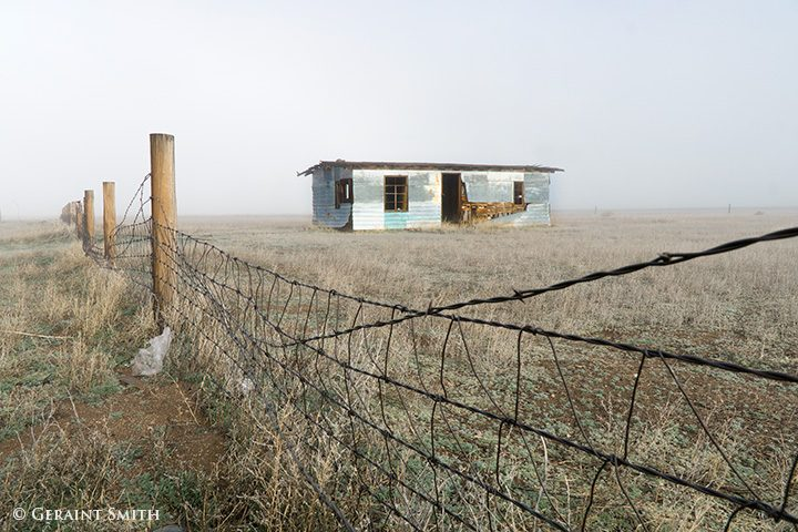 abandoned building in the san luis valley colorado
