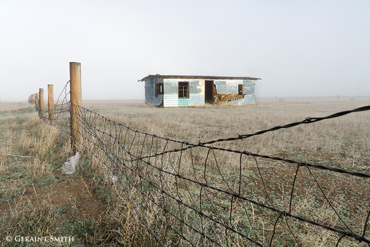 abandoned building in the san luis valley colorado