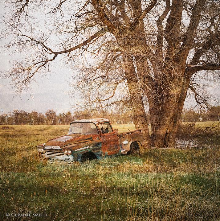 abandoned truck colorado