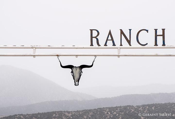 ranch gate san luis colorado ranch