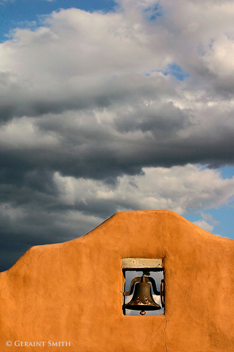 Adobe, Bell And Clouds