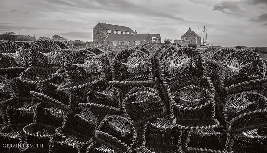 Lindisfarne Island Lobster Pots