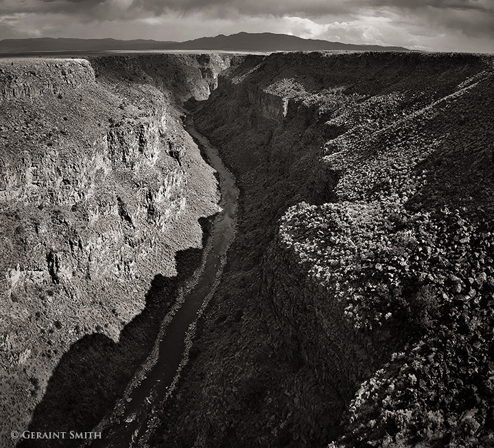 Rio Grande Gorge from the high bridge