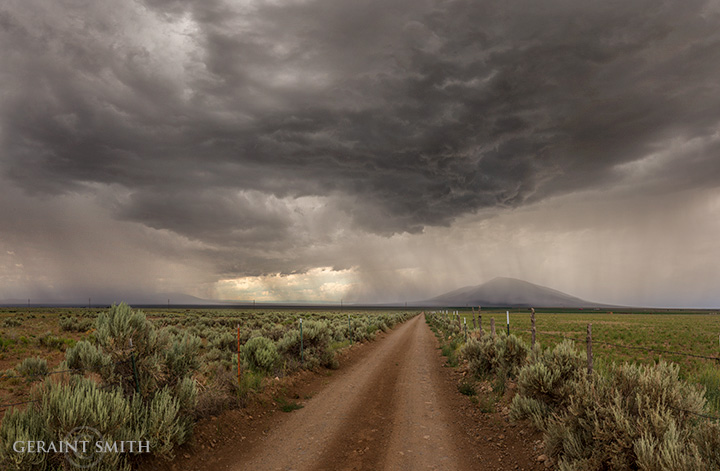 Ute Mountain storm
