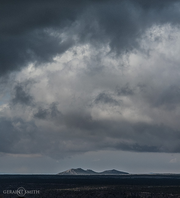 Storm Across The Plateau