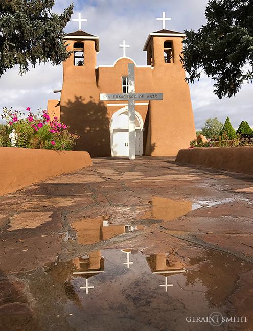 Reflection At The Saint Francis Church