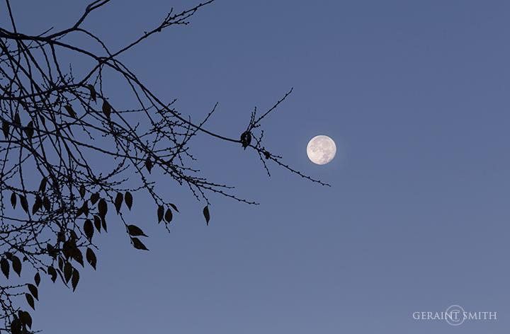 Morning moon San Cristobal