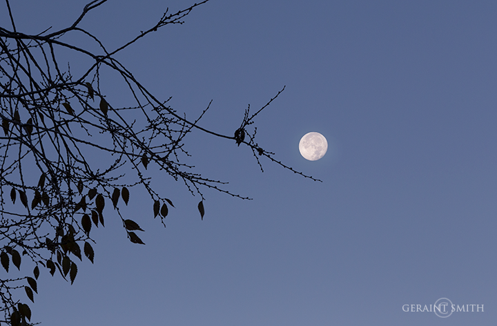 Morning moon San Cristobal