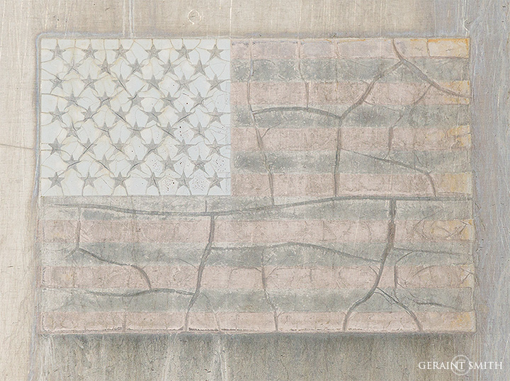 Faded American Flag