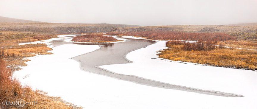 Rio Grande Ice southern Colorado