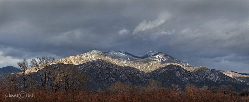 Winter Light On Taos Mountain