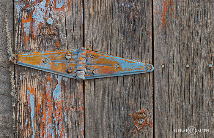 Barn door in the high country