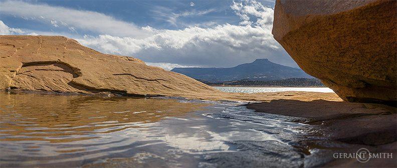 Cerro Pedernal, Abiquiu Lake