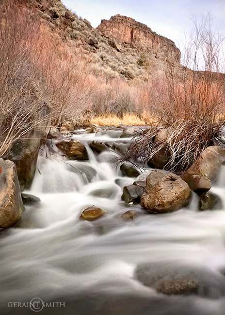 Snapshot from the Rio Pueblo today.