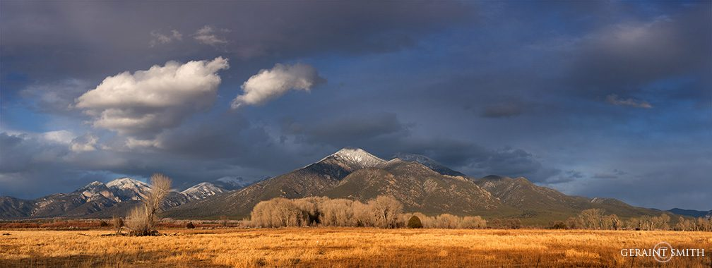 As The Storm Recedes The Mountain Shines
