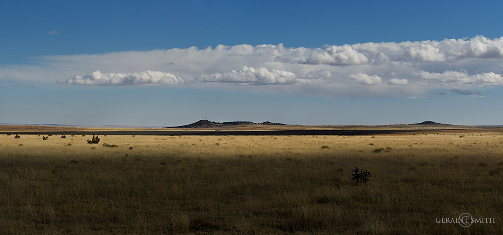 On the Plains, Cimarron, New Mexico,